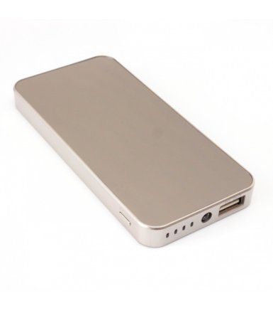 SUNEN PowerBank 4500mAh, Li-Poly, LED, lustro