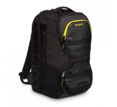 Targus Work + Play Fitness 15.6'' Laptop BackPack Czarny/Żółty