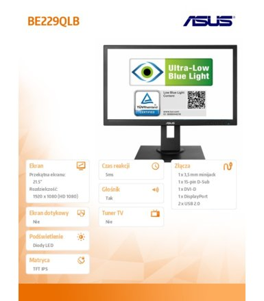 Asus 22' BE229QLB