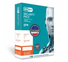 ESET Security Pack Box 1+1 3Y PL    ESP-N-3Y-2D