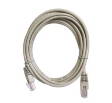 ART Patch cord 5m UTP 5e szary