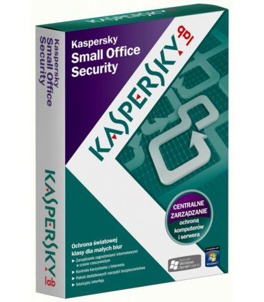 Kaspersky Small Office Security 1Year 10Workstation + 1Server