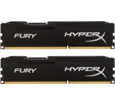 HyperX DDR3 Fury  8GB/ 1600 (2*4GB) CL10 BLACK