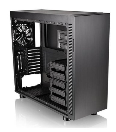 Thermaltake Suppressor F51 Tempered Glass - Black