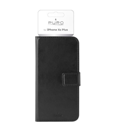 PURO Etui Booklet Wallet Case do iPhone Xs Max