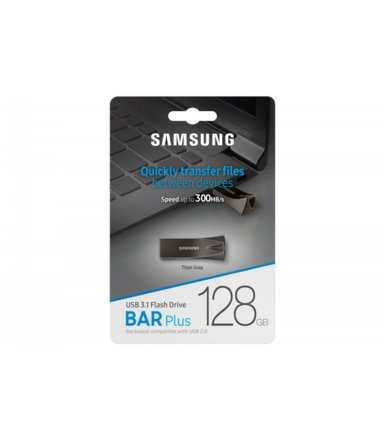 Samsung BAR Plus USB3.1 128 GB Titan Gray