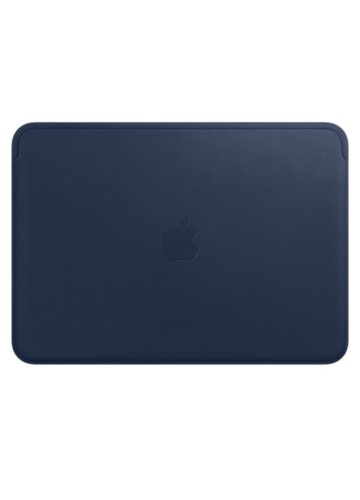 Apple Leather Sleeve for 12 MacBook - Midnight Blue