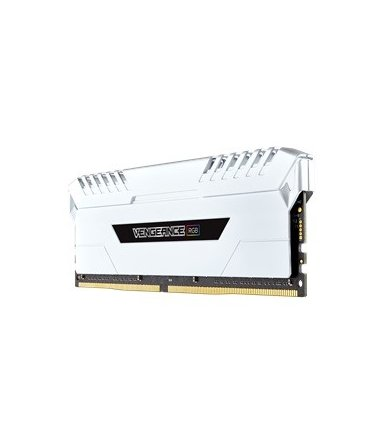 Corsair DDR4 Vengeance RGB LED 16/3000(2*8GB)CL15-17-17-35              White Heat spreader