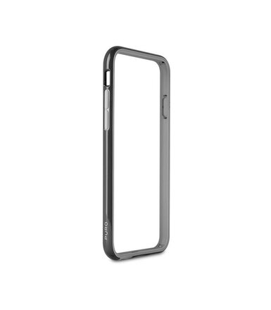 PURO Bumper Cover + folia na ekran iPhone 6/6s black