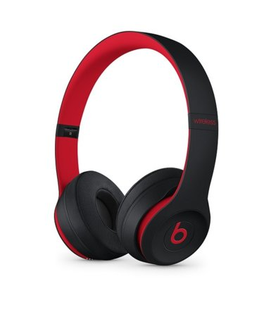 Apple Słuchawki bezprzewodowe nauszne Beats Solo3 Wireless - The Beats Decade Collection - niepokorny czarno-czerwony