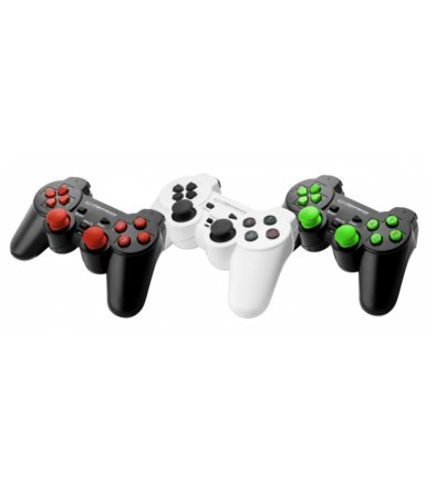 Esperanza GAMEPAD PC USB WARRIOR CZARNO/ZIELONY