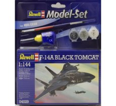 REVELL Model Set F-14 To mcat Black