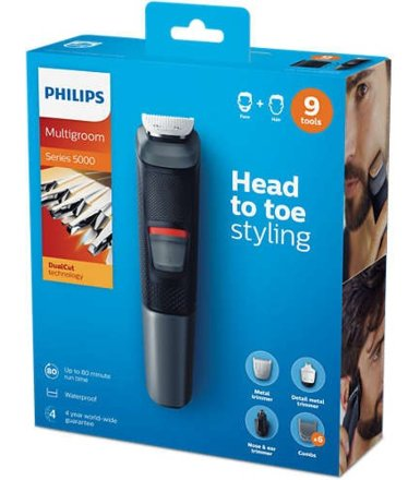 Philips Trymer do włosów i brody 9 w 1 MG5720/15