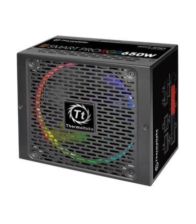 Thermaltake Smart Pro RGB 650W Modular (80+ Bronze, 4xPEG, 140mm, Single Rail)