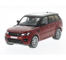Land Rover Range Rover Sport 2014 (metallic red/black)