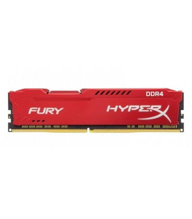 HyperX DDR4 Fury Red 8GB/2400 CL15