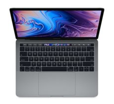 Apple MacBook Pro 13 Touch Bar, 2.8GHz quad-core 8th i7/16GB/256GB SSD/Iris Plus Graphics 655 - Space Grey MV962ZE/A/P1/R1