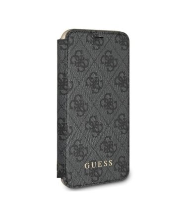 GUESS Etui book GUFLBKI8GF4GGR iPhone 7/8 szary 4G Charms Collection