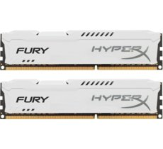 HyperX DDR3 Fury 16GB/ 1600 (2*8GB) CL10 WHITE