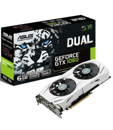 Asus GeForce GTX 1060 DUAL 6GB DDR5 192BIT DV/HD/DP BOX