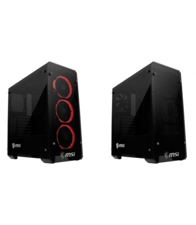 MSI Obudowa Mag Pylon 2 x USB 3.0 Triple Tempered Glass