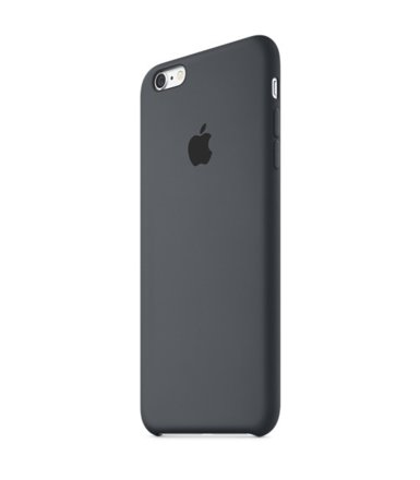 Apple iPhone 6s Plus Silicone Case Charcoal Gray  MKXJ2ZM/A