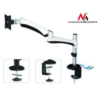 Maclean Uchwyt do monitora white MC-669W