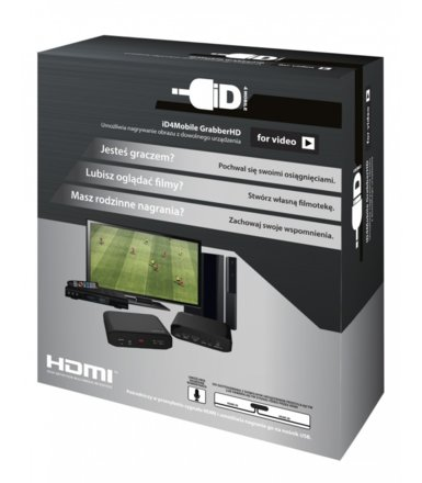 iD4mobile GRABBER-HD NAGRYWARKA HDMI
