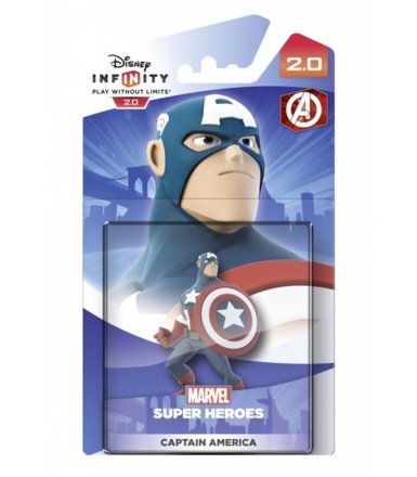 Disney Infinity 2.0 - Kapitan Ameryka (The Avengers)