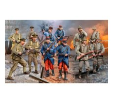 Revell  Figurka set WWI German/British/French (1914)