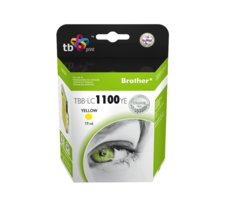 TB Print Tusz do Brother LC980/1100 TBB-LC1100YE YE 100% nowy