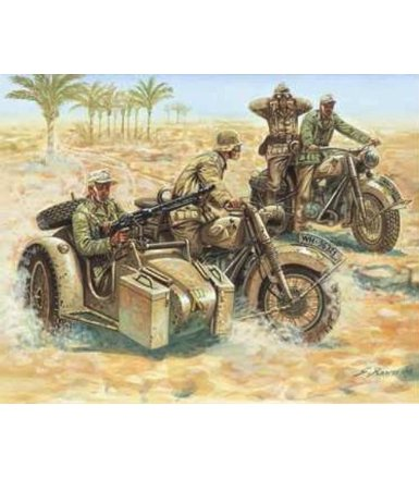 WWII German Motorcycles