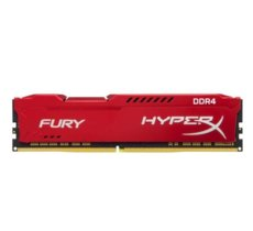 HyperX DDR4 Fury Red 8GB/2666 CL16