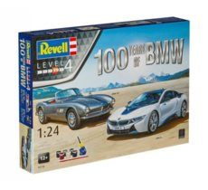 Revell Zestaw upominkowy 100TH Anniversary BMW